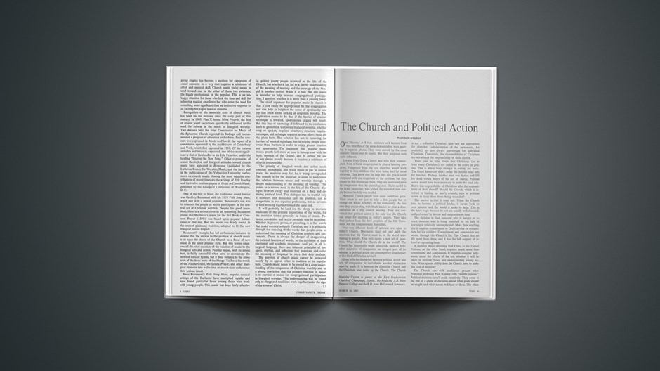 The Church and Political Action