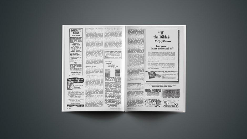 Book Briefs: October 10, 1969
