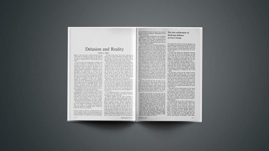 Delusion and Reality