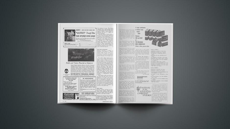 Book Briefs: October 24, 1969