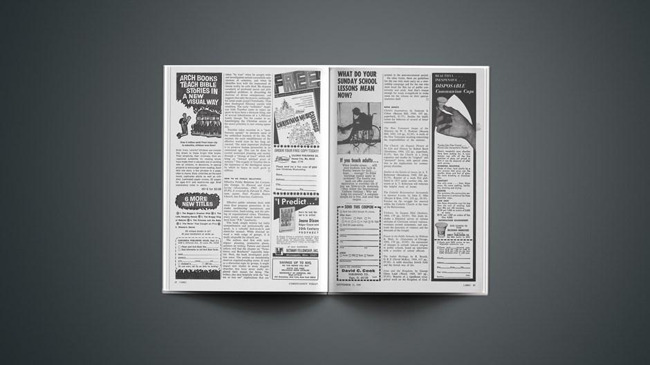 Book Briefs: September 12, 1969