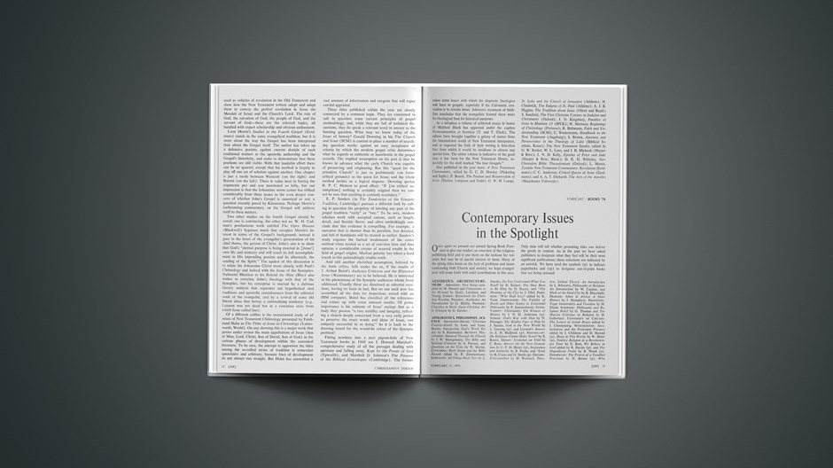 Contemporary Issues in the Spotlight