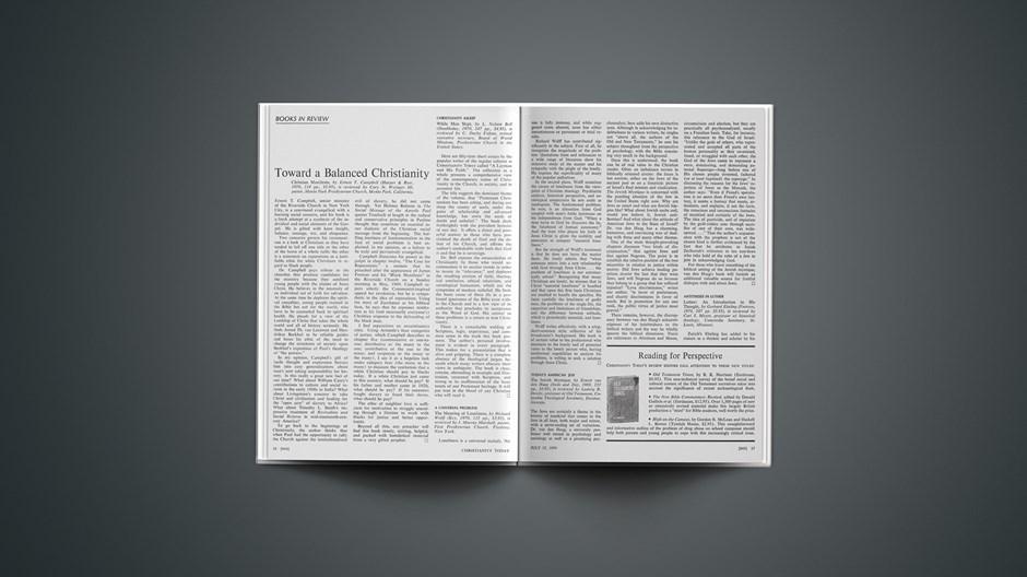 Book Briefs: July 17, 1970