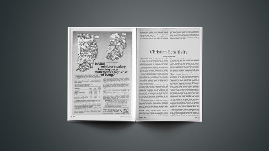 Christian Sensitivity