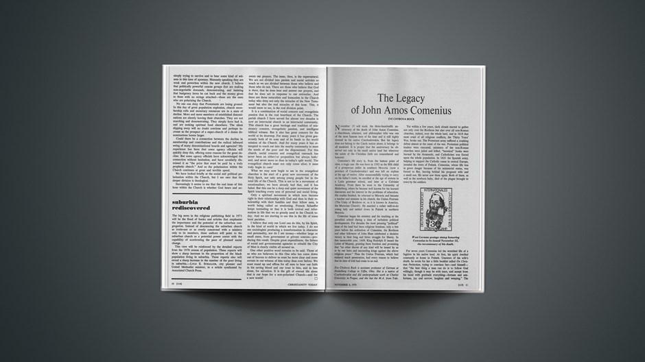 The Legacy of John Amos Comenius