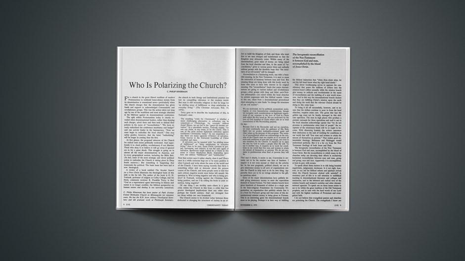Who Is Polarizing the Church?