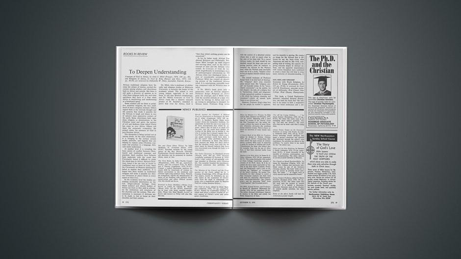 Book Briefs: October 23, 1970