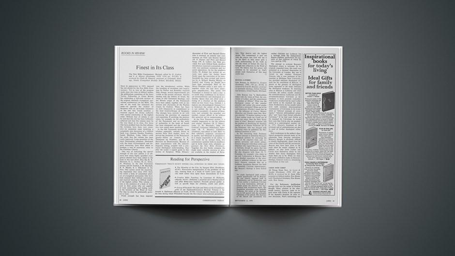 Book Briefs: September 11, 1970