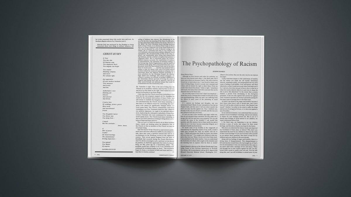 The Psychopathology of Racism