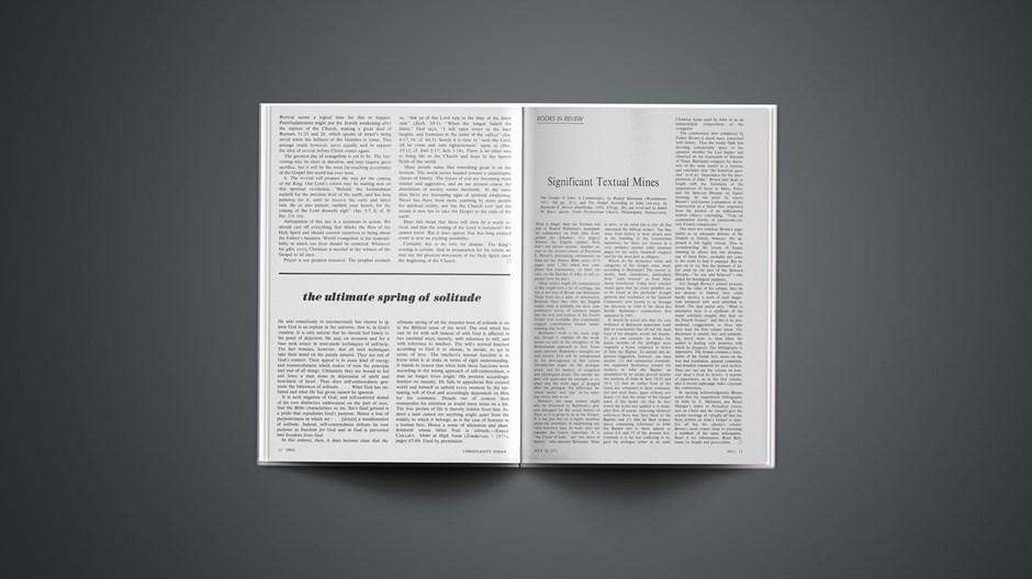 Book Briefs: July 16, 1971