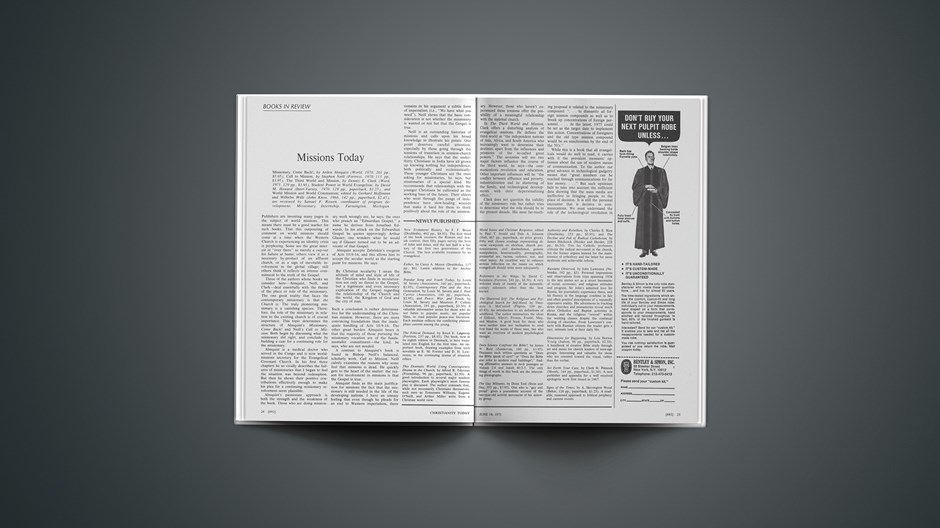 Book Briefs: June 18, 1971
