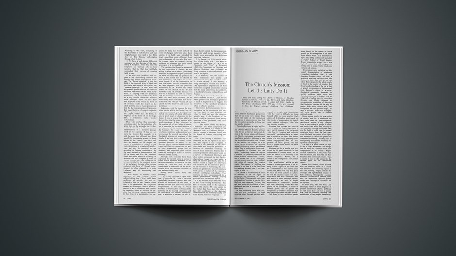 Book Briefs: September 10, 1971