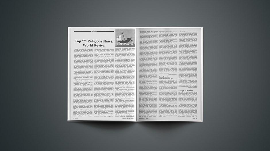 Top '71 Religious News: World Revival