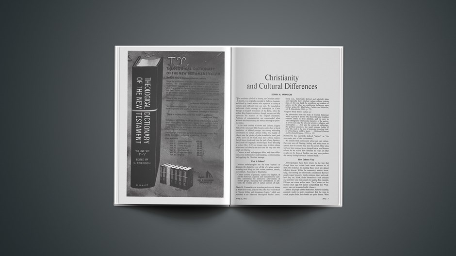 Christianity and Cultural Differences