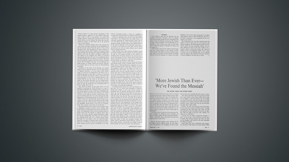 More Jewish than Ever—We've Found the Messiah