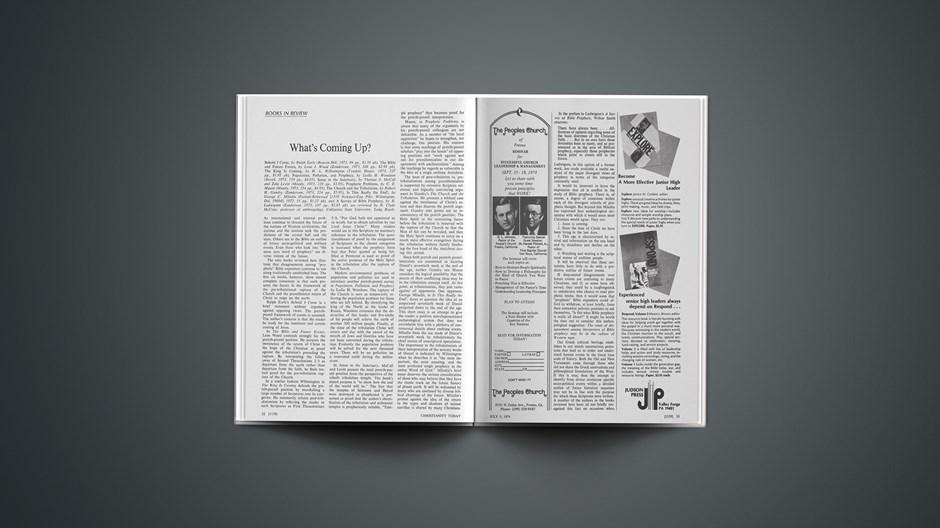 Book Briefs: July 5, 1974