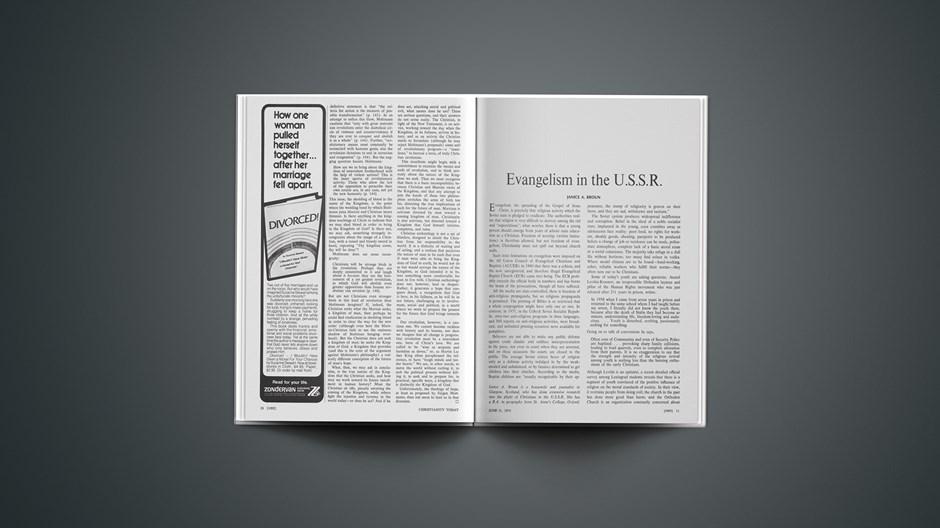 Evangelism in the U.S.S.R.