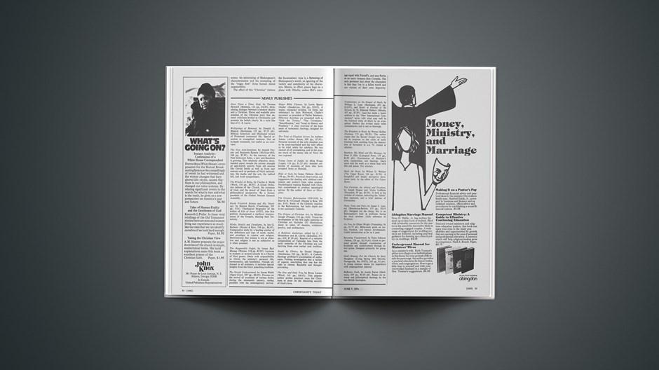 Book Briefs: June 7, 1974