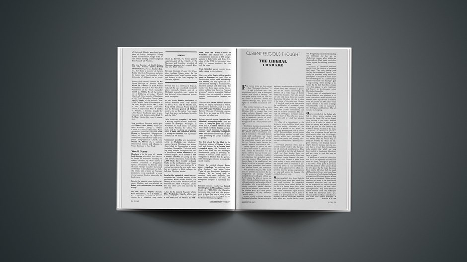 Eurofest '75: The Bible in Brussels