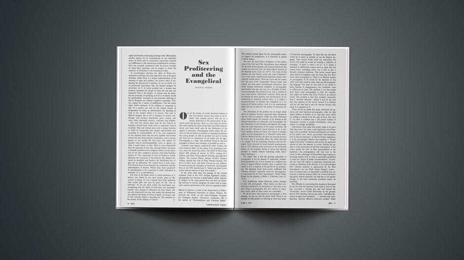 Sex Profiteering and the Evangelical